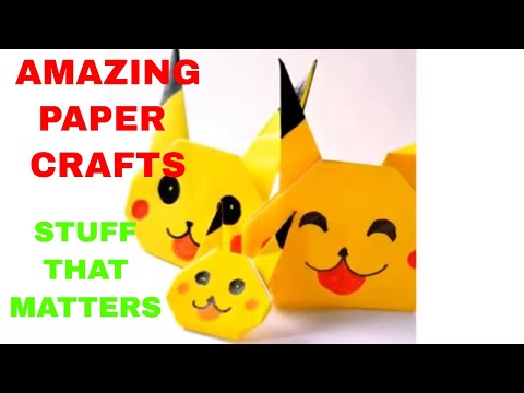 AMAZING DIY PAPER CRAFTS, SIMPLE LIFE HACKS, STUFF THAT MATTERS, DIY PAPER CRAFTS