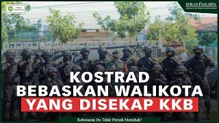 Prajurit Yonif Raider 503 Kostrad Berhasil Bebaskan Walikota yang Disekap KKB