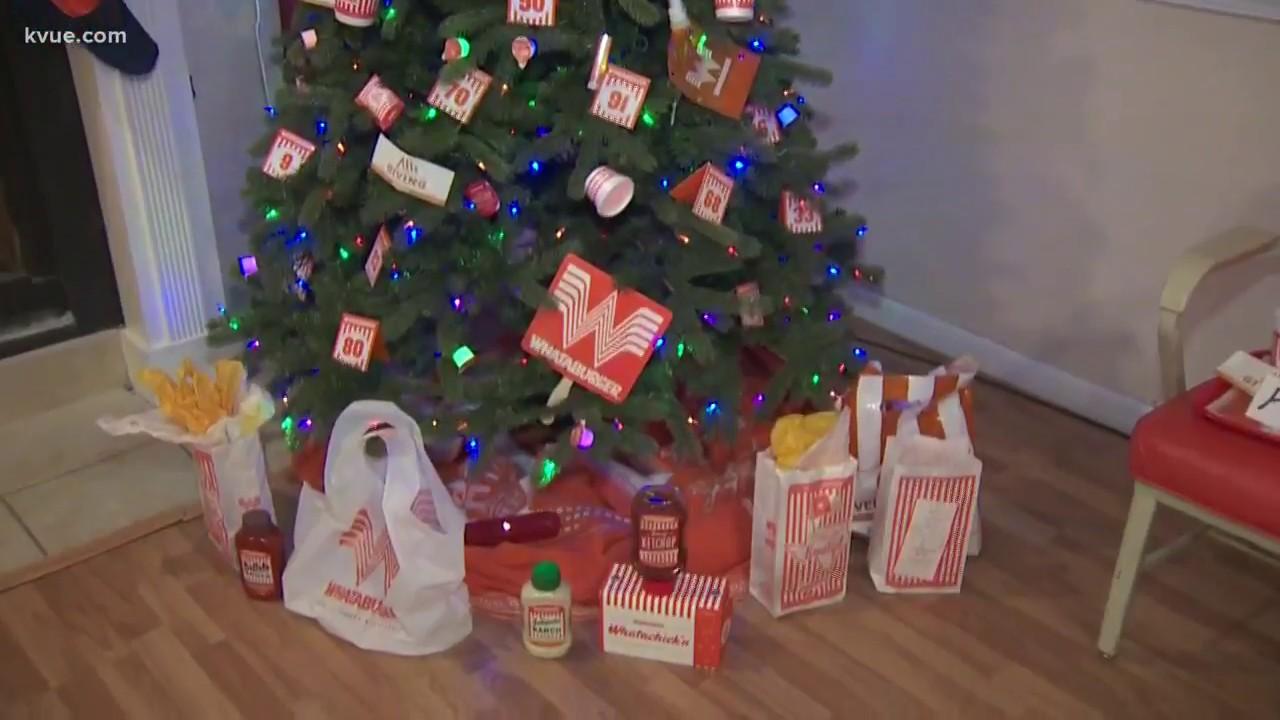 austinite decorates tree with whataburger - Is Whataburger Open On Christmas