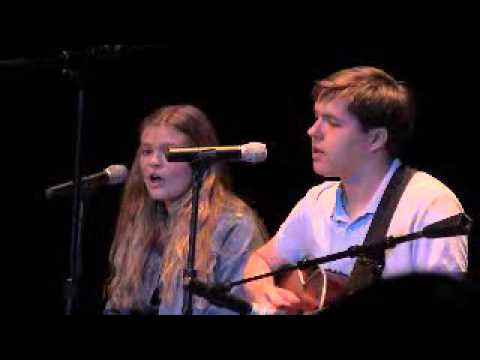 "The Potomac School Talent Show ""Fly Me To The Moon"" with Nick Berray and Maggie Reyes"