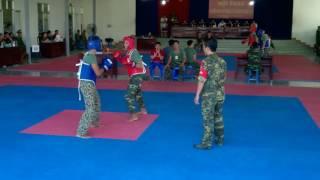 Trận chung kết võ chiến đấu tay không giữa đặc công 60 và sư bb5 năm 2016.