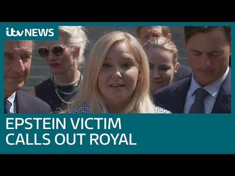 'He knows what he's done': Epstein victim Virginia Giuffre calls out Prince Andrew | ITV News