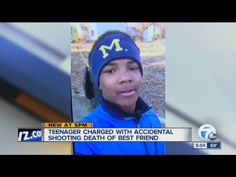 Teen charged with shooting best friend