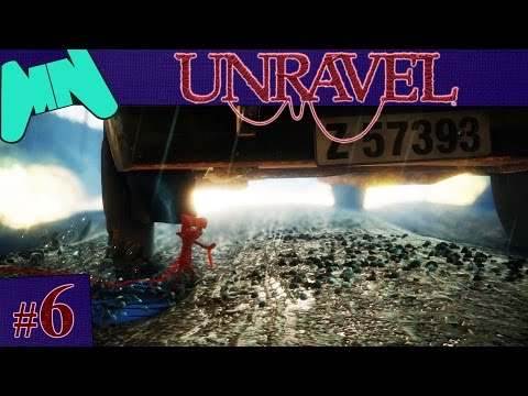 Unravel | Gameplay Walkthrough Part 6: Down in a Hole