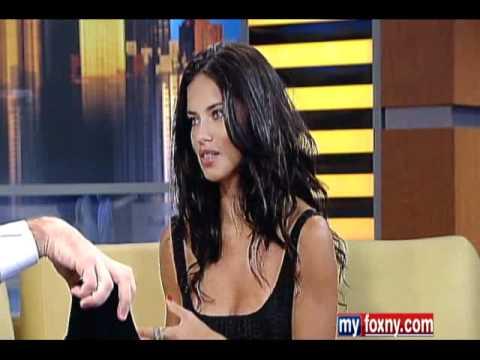 Adriana Lima Good day NY interview