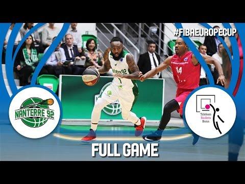 Nanterre 92 (FRA) v Telekom Baskets (GER) - Semi-Final - Full Game - FIBA Europe Cup 2016/17
