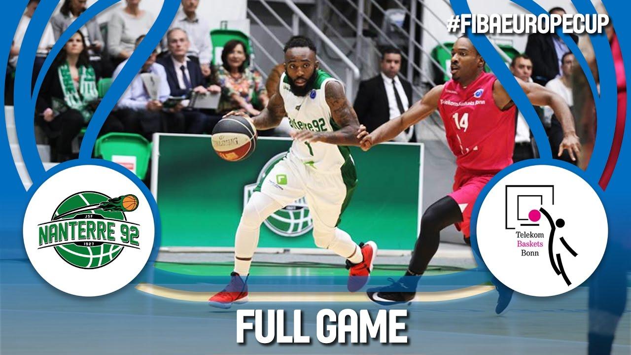 Re-watch: Nanterre 92 (FRA) v Telekom Baskets (GER) - Semi-Final