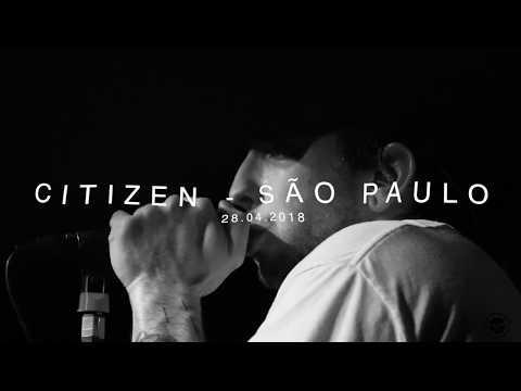 Citizen - South America Tour 2018, São Paulo, Brazil - Teaser