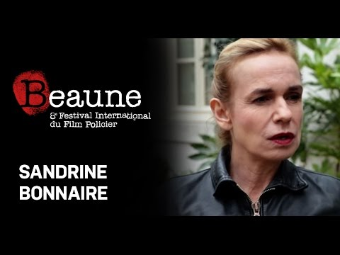Interview de Sandrine Bonnaire au Festival International du Film Policier de Beaune 2016