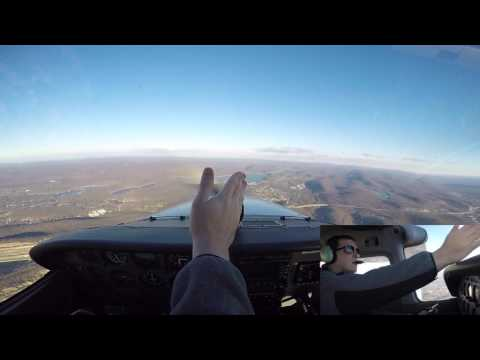 Private Pilot Flight Training Lesson #15: Steep Turns, Crosswind Landing