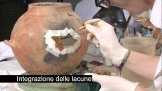Restauro di materiali ceramici