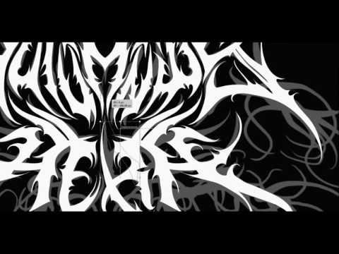 Time Lapse: Creating A Black/Doom Metal Logo