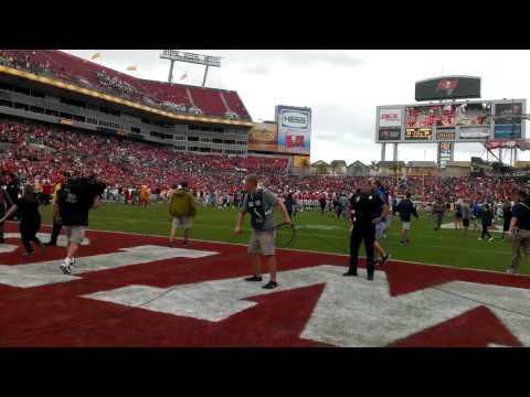 Auburn Missed OT Field Goal - Outback Bowl Field Level