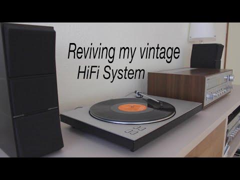 Reviving My Vintage Yamaha And Bang & Olufsen HiFi System