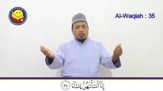 Waqiah Ayat 35 38