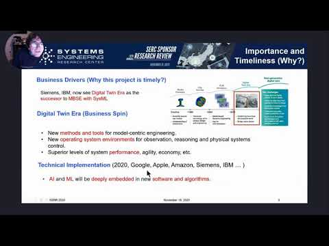 SSRR 2020: WRT-1025: Using AI/ML Design Patterns for Digital Twins and Model-Centric Engineering