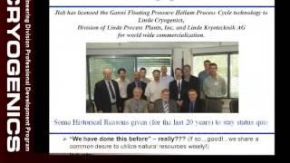 JLab Engineering Seminars - System Optimization/Ganni Cycle