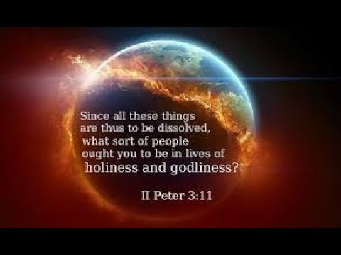 Living in The Light of His Coming 2 Peter 3:10-16.