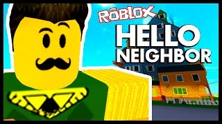 Where is the basement!? - HELLO NEIGHBOR in Roblox!