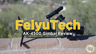 Feiyu Tech AK4500 Review - Must watch before you buy this DSLR Gimbal!