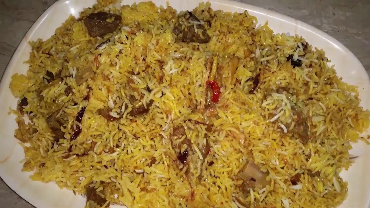 Mutton Biryani Recipe How To Make Mutton Biryani Simple Easy Way