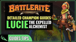 Lucie Guide - Detailed Champion Guides | Battlerite (Early Access)