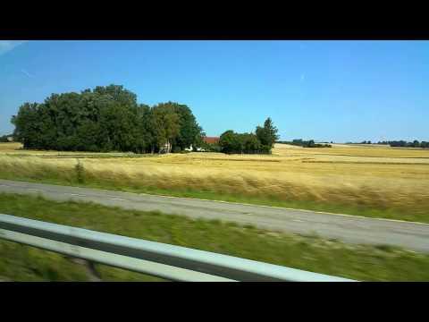 Swedish County Side Near Skona, Southern Sweden