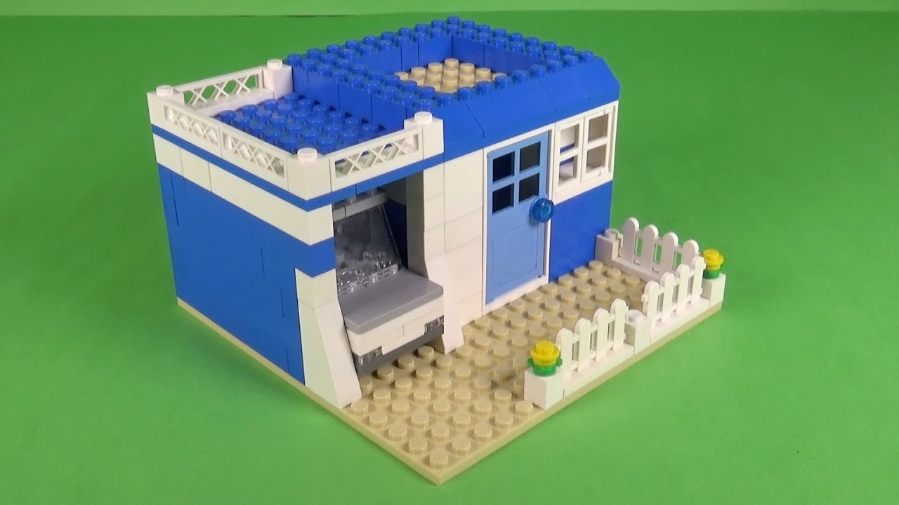 How To Build A Lego House With Garage Minimalist