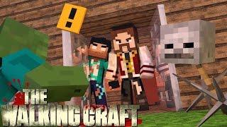 Minecraft: #5 A FORTALEZA! (THE WALKING CRAFT 3ª TEMP)