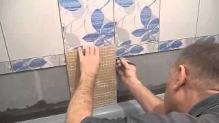 Облицовка плиткой чугунной ванны ч.4