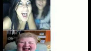 Grandma laughing on chatroulette -  prank