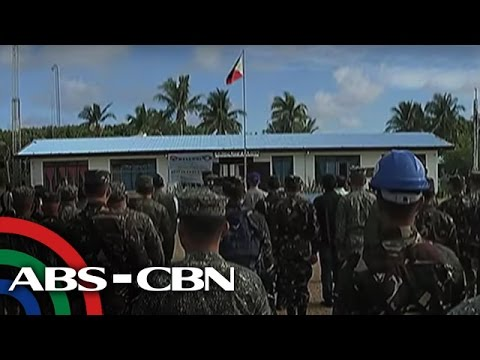 TV Patrol: Inaangking isla sa West PH Sea, tatayuan ng istraktura
