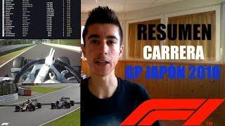 RESUMEN CARRERA GP JAPÓN 2018 || TEMPORADA F1 2018 || RoberSR