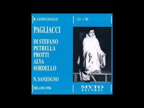 """Leoncavallo """"I Pagliacci"""" Scala 1956"""