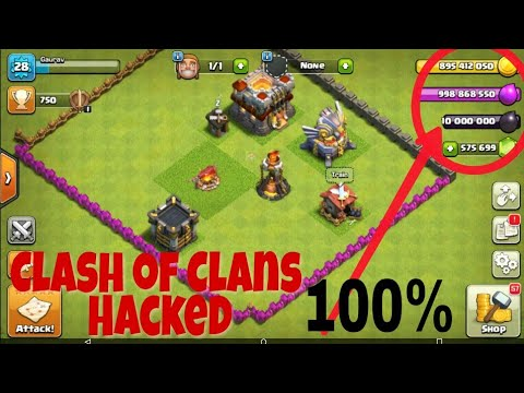 How To Hack Clash Of Clans Android Game || Clash Of Clans ...