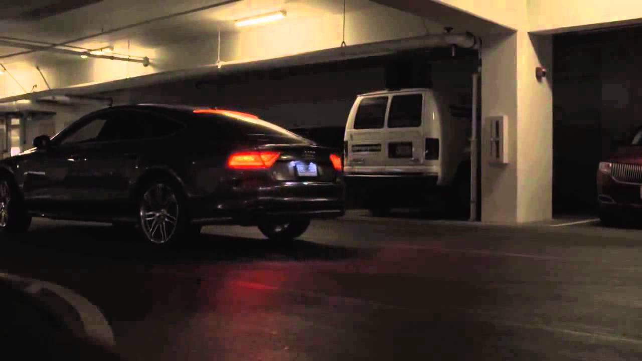 Driverless Audi A Parks Itself Returns To Collect Owner YouTube - Audi car that parks itself