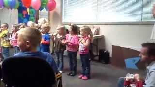 Potty mouth preschooler sings the wrong lyrics!