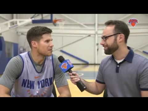 Inside Knicks Training Camp: 1-on-1 with Doug McDermott