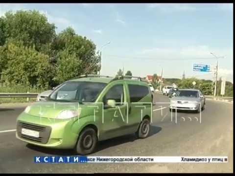 На третью неделю работы выделенной полосы на проспекте Гагарина расчистили пробки
