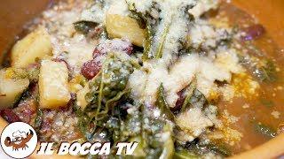 558 - Minestra di cavolo nero e pane agliato..ci farei un bell'agguato! (zuppa tipica Versiliese)