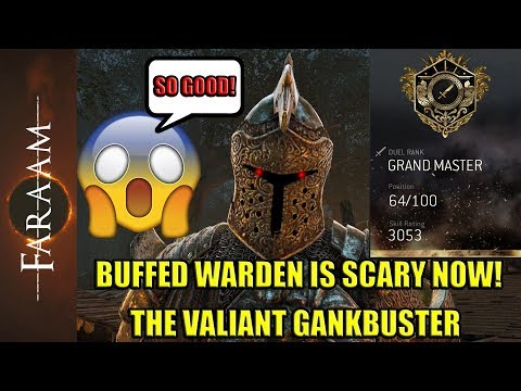 Buffed Warden played by a Grandmaster - New Warden is Scary [For Honor]