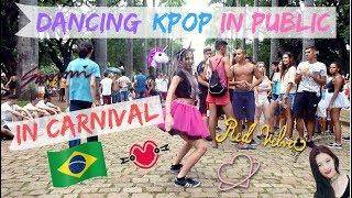 DANCING KPOP IN PUBLIC CHALLENGE IN CARNIVAL! #3
