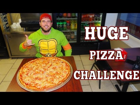 $200 Undefeated 26 Inch Pizza Challenge in New York!