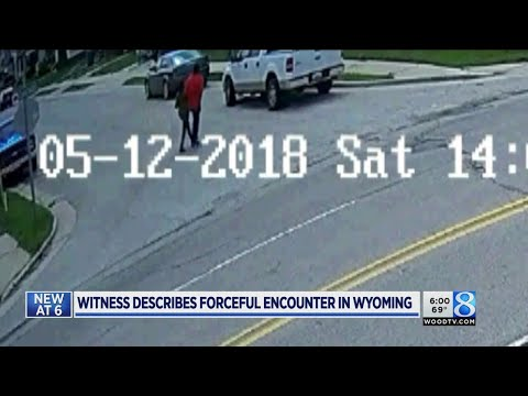 Man who saw woman forced into truck: 'Looked like a kidnap'