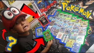 SUPER RARE VINTAGE POKEMON CARDS!! My Own BOOSTER PACK!? Crazy Customs & Fanmail! FRIDAY FREEDAY #49 thumbnail