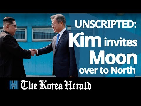 UNSCRIPTED: Kim Jong-un invites Moon Jae-in to cross border