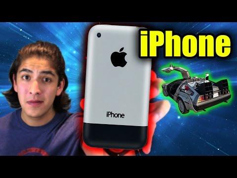 VIAJE EN EL TIEMPO: EL PRIMER iPHONE (2G)