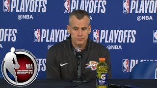 [FULL] Billy Donovan speaks about the death of Gregg Popovich's wife, Erin | NBA on ESPN