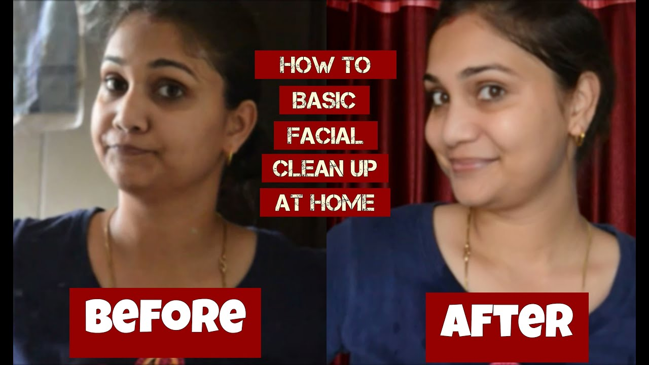 Get Flawless And Younger Looking Skin  How To Basic Facial Cleanup At Home   Indian Youtuber