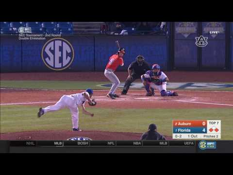 Auburn baseball vs Florida SEC Tournament highlights